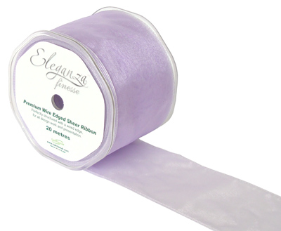 70mm x 20m Lavender - Ribbons