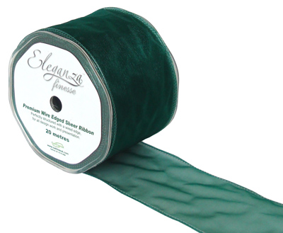 70mm x 20m Green - Ribbons
