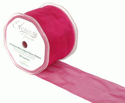 70mm x 20m Deep Cerise - Ribbons