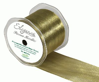 70mm x 15m Metallic Gold - Ribbons