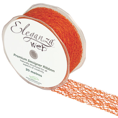 Web Ribbon 38mm x 20m Orange No.04 - Ribbons