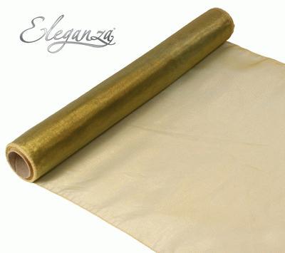 Woven Edge Organza 40cm x 9m Vintage - Organza / Fabric