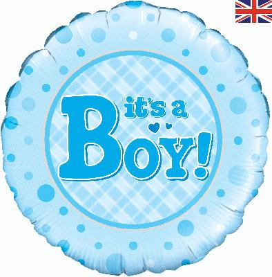 Oaktree It's a Boy - Foil Balloons