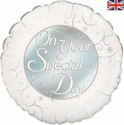 Oaktree On Your Special Day - Foil Balloons