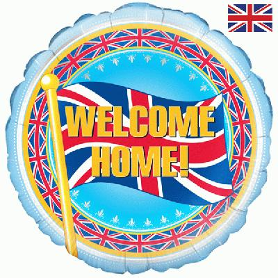 Oaktree Welcome Home - Foil Balloons