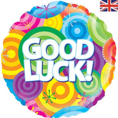 Oaktree Good Luck Rainbow Circles - Foil Balloons