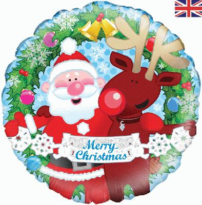 Christmas Friends Holographic - Seasonal