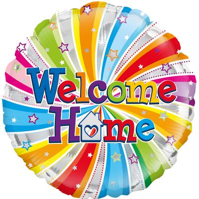 Oaktree Welcome Home Swirl - Foil Balloons