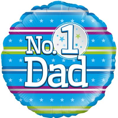 Oaktree Number 1 Dad - Foil Balloons