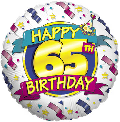 Happy 65th Birthday (Special Net Price) - Clearance