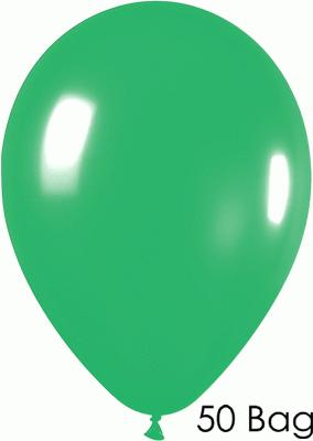 11inch Fashion Solid 028 Jade x50 - Latex Balloons