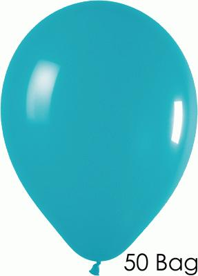 11inch Fashion Solid 036 Turquoise x50 - Latex Balloons
