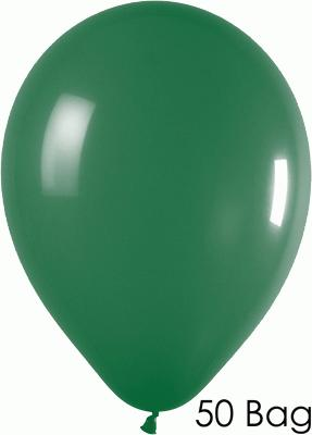 11inch Fashion Solid 032 Forest Green x50 - Latex Balloons