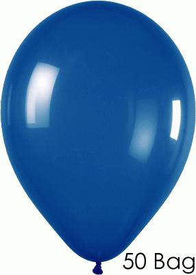 11inch Crystal 340 Blue x50 - Latex Balloons