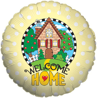 Welcome Home Yellow - Foil Balloons