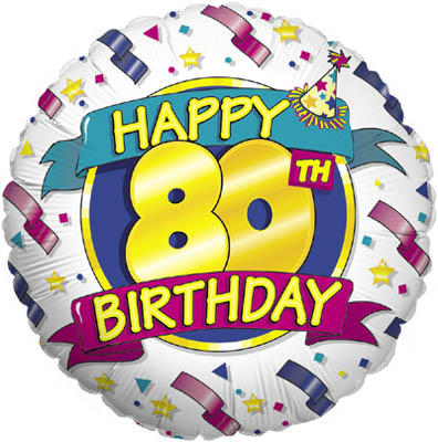 Happy 80th Birthday (Special Net Price) - Clearance