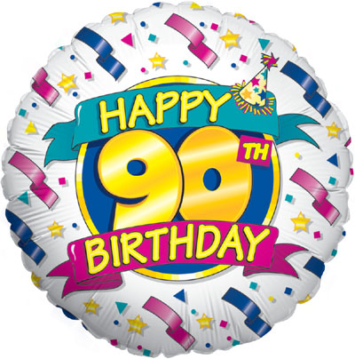 Happy 90th Birthday (Special Net Price) - Clearance