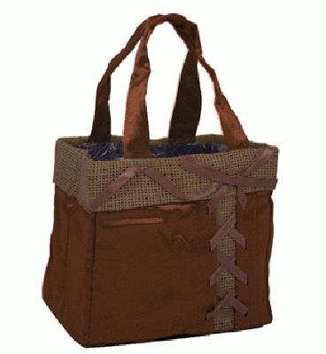 Java Bag Medium 13.5 x 8 x 13.5cm Chocolate x 10pcs - Accessories