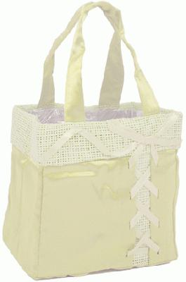 Java Bag Large 16 x 10 x 16cm Ivory x 10pcs - Accessories