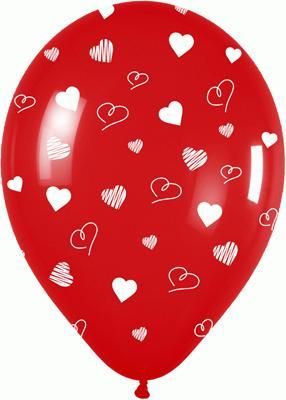 Allover Premium Crystal Hearts I-H3-315 - Seasonal