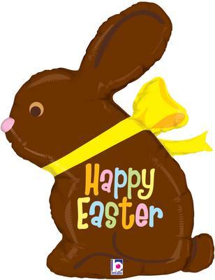 "Betallic 39"" Shape Chocolate Easter Bunny (D) Pkg - Seasonal"