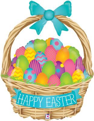 Betallic 39inch Shape Easter Egg Hunt (U) Pkg - Seasonal