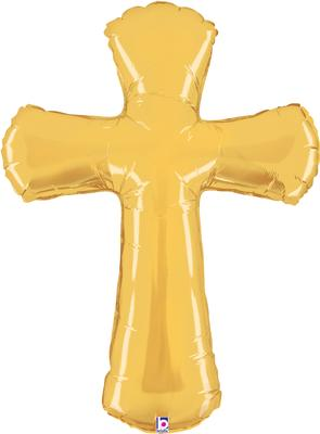 Betallic 44inch Shape Cross (U) Pkg - Seasonal