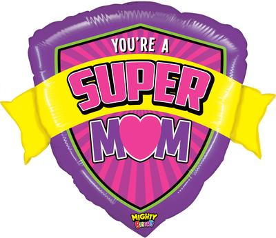 Betallic 33inch Shape Mighty Bright Super Mom Pkg - Seasonal
