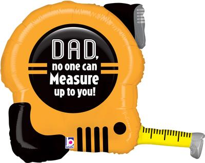 Betallic 30inch Shape Tape Measuring Dad (C) - Seasonal
