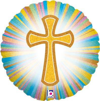 Betallic 18inch Cross Holographic - Seasonal