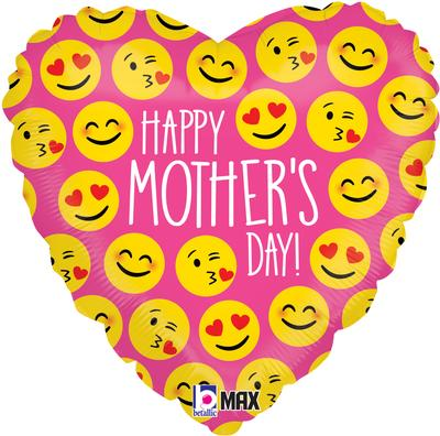 Betallic 18inch Emoji Mothers Day - Seasonal