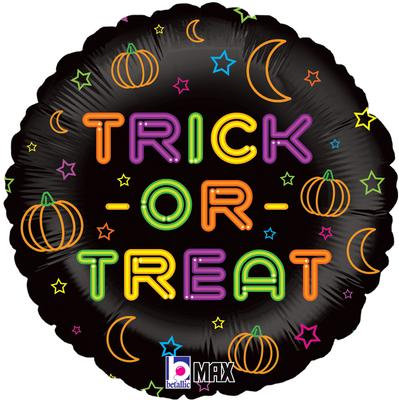 Betallic 18inch Neon Trick or Treat Holographic - Seasonal