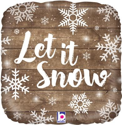 Betallic 18inch Let It Snow - Seasonal