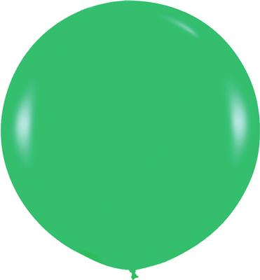 36inch Fashion Solid Green 030 - Latex Balloons