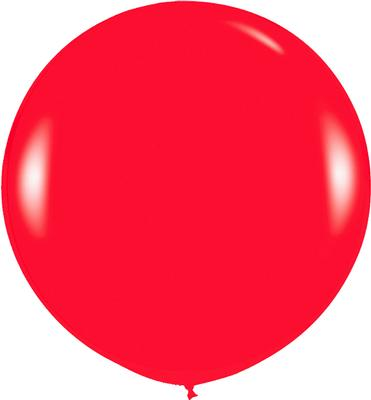 36inch Fashion Solid Red 015 - Latex Balloons
