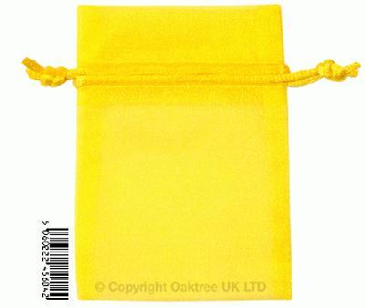 Eleganza bags 7cm x 10cm (10pcs) Yellow No.11 - Gift Boxes / Bags