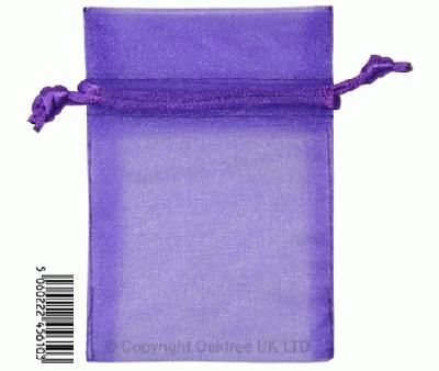 Eleganza bags 7cm x 10cm (10pcs) Purple No.36 - Gift Boxes / Bags