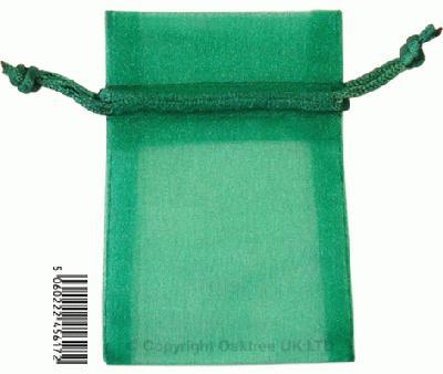 Eleganza bags 7cm x 10cm (10pcs) Green No.50 - Gift Boxes / Bags