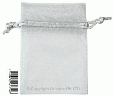 Eleganza bags 7cm x 10cm (10pcs) Silver No.24 - Gift Boxes / Bags