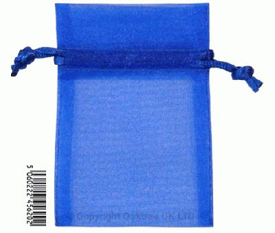 Eleganza bags 7cm x 10cm (10pcs) Royal Blue No.18 - Gift Boxes / Bags