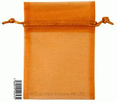 Eleganza bags 9cm x 12.5cm (10pcs) Copper No.23 - Gift Boxes / Bags