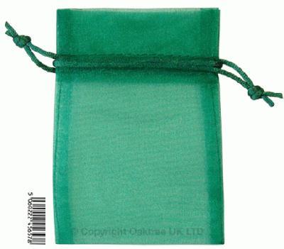 Eleganza bags 9cm x 12.5cm (10pcs) Green No.50 - Gift Boxes / Bags