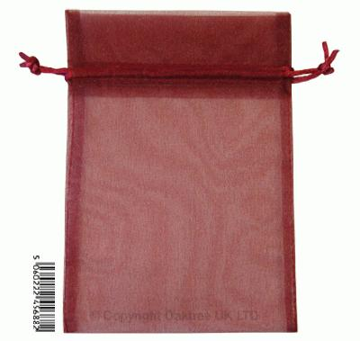 Eleganza bags 12cm x 17cm (10pcs) Burgundy No.17 - Gift Boxes / Bags