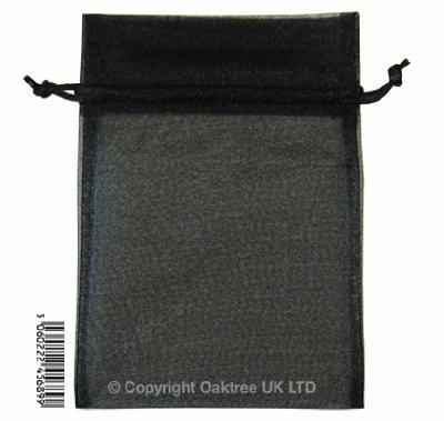 Eleganza bags 12cm x 17cm (10pcs) Black No.20 - Gift Boxes / Bags