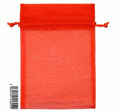 Eleganza bags 12cm x 17cm (10pcs) Red No.16 - Gift Boxes / Bags