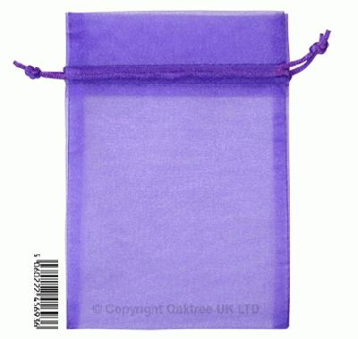 Eleganza bags 12cm x 17cm (10pcs) Purple No.36 - Gift Boxes / Bags