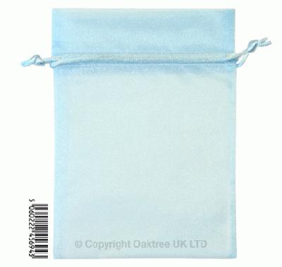 Eleganza bags 12cm x 17cm (10pcs) Lt Blue No.25 - Gift Boxes / Bags