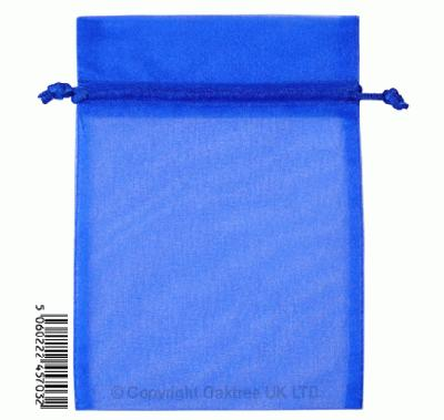 Eleganza bags 12cm x 17cm (10pcs) Royal Blue No.18 - Gift Boxes / Bags