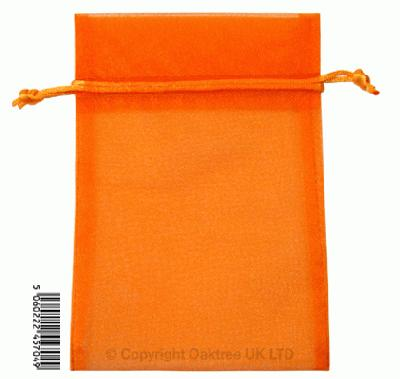 Eleganza bags 12cm x 17cm (10pcs) Orange No.04 - Gift Boxes / Bags