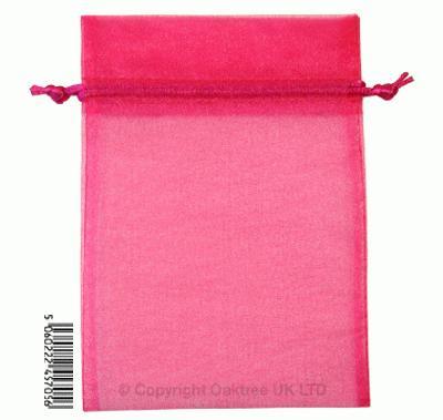 Eleganza bags 12cm x 17cm (10pcs) Deep Cerise No.30 - Gift Boxes / Bags